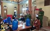 Thái Bình: Đình chỉ cơ sở sản xuất số lượng lớn chai nước rửa tay giả