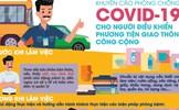 Phòng Covid-19 cho người điều khiển phương tiện giao thông công cộng