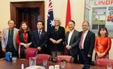 Thị trưởng thành phố Melbourne tiếp Đại sứ đặc mệnh toàn quyền Việt Nam tại Australia