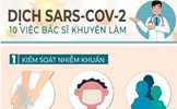 10 điều nên làm ngay khi có thêm ca nhiễm SARS-CoV-2 mới