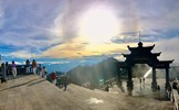 Bình yên mùa Vu Lan trên đỉnh thiêng Fansipan