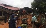 Cận cảnh hiện trường tìm kiếm 20 quân nhân nghi bị vùi lấp ở Quảng Trị