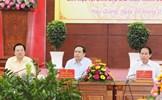 Chủ tịch Trần Thanh Mẫn làm việc về an sinh xã hội với các tỉnh, thành phố ĐBSCL