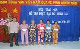 MTTQ tỉnh Kiên Giang trao quà hỗ trợ người dân bị thiệt hại do mưa lũ
