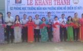 Kiên Giang: Khánh thành phòng học Mầm non tại thị xã Hà Tiên từ nguồn xã hội hóa