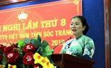 Mặt trận tỉnh Sóc Trăng nhận Cờ đơn vị xuất sắc toàn diện năm 2017
