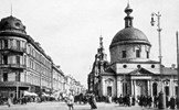Bất ngờ trước hình ảnh thủ đô Moscow (Nga) 100 năm trước và ngày nay