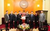 Phó Chủ tịch Ngô Sách Thực tiếp Tổng Hội Thánh Tin lành Việt Nam (miền Bắc)