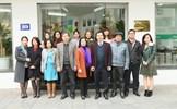Phó Chủ tịch Bùi Thị Thanh thăm, làm việc tại Tạp chí Mặt trận
