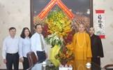 Phó Chủ tịch Ngô Sách Thực chúc mừng lễ Phật đản tại TP. Hồ Chí Minh