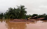 Điện thăm hỏi nhân dân Lào trong sự cố vỡ đập thủy điện Xe Pian-Xe Namnoy