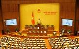 Hôm nay, Quốc hội bắt đầu quy trình lấy phiếu tín nhiệm 48 chức danh