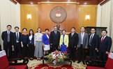 Phó Chủ tịch Trương Thị Ngọc Ánh tiếp đoàn đại biểu Chính hiệp Trung Quốc