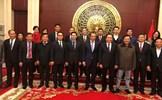 Chủ tịch Trần Thanh Mẫn thăm cán bộ, nhân viên Đại sứ quán Việt Nam tại Trung Quốc