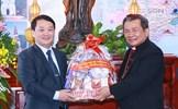 Phó Chủ tịch - Tổng Thư ký Hầu A Lềnh chúc mừng Giáng sinh tại Lạng Sơn