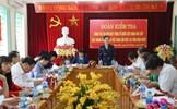 Phó Chủ tịch Trương Thị Ngọc Ánh kiểm tra công tác Đại hội tại tỉnh Điện Biên
