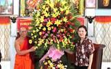 Phó Chủ tịch Trương Thị Ngọc Ánh chúc Tết Chôl Chnăm Thmây tại Bạc Liêu