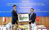 Đoàn cấp cao Ủy ban Trung ương MTTQ Việt Nam chuẩn bị thăm Cộng hòa Singapore