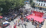 Độc đáo Carnival đường phố lần thứ 2 tại phố đi bộ Hồ Gươm