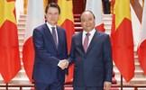 Thủ tướng Nguyễn Xuân Phúc hội đàm với Thủ tướng Italy