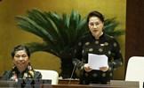 Quốc hội kết thúc chất vấn, trả lời chất vấn thành viên Chính phủ