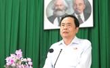Chủ tịch Trần Thanh Mẫn tiếp xúc cử tri quận Thốt Nốt và huyện Cờ Đỏ (Cần Thơ)