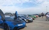 Dàn siêu xe trăm tỷ hội tụ tại Cảng tàu khách quốc tế Hạ Long