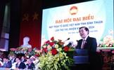 Bà Bố Thị Xuân Linh tái cử chức Chủ tịch Mặt trận tỉnh Bình Thuận