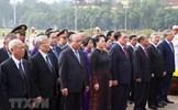 Lãnh đạo Đảng, Nhà nước, MTTQ tưởng niệm các anh hùng, liệt sỹ