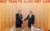 Chủ tịch Trần Thanh Mẫn tiếp đoàn đại biểu cấp cao Tổng Đồng minh Chức nghiệp Triều Tiên
