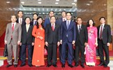 Chủ tịch Trần Thanh Mẫn chào xã giao Chủ tịch Quốc hội Hàn Quốc