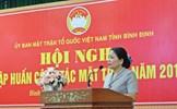 Bình Định: Hội nghị tập huấn công tác Mặt trận năm 2019