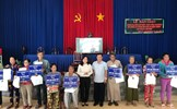 An Giang: Bàn giao 37 căn nhà Đại đoàn kết tại huyện Chợ Mới