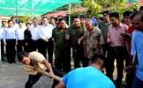Chủ tịch Trần Thanh Mẫn dự Ngày hội Đại đoàn kết toàn dân tộc tại tỉnh Hậu Giang