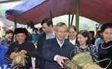 Thường trực Ban Bí thư Trần Quốc Vượng dự Ngày hội Đại đoàn kết tại khu dân cư Nà Tẳng