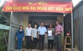 Cà Mau: Bàn giao nhà Đại đoàn kết do Mặt trận Trung ương hỗ trợ