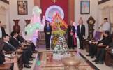 Phó Chủ tịch nước Đặng Thị Ngọc Thịnh chúc mừng Giáng sinh tại Tòa Giám mục Thanh Hóa