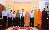 Phát huy tinh thần hữu nghị, nhân ái của Phật giáo trong khối đại đoàn kết toàn dân tộc