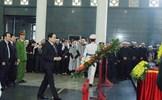 Tiễn biệt các cán bộ, chiến sĩ Công an hy sinh tại Đồng Tâm