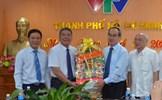 Đồng chí Nguyễn Thiện Nhân thăm, chúc Tết cơ quan báo chí, gia đình chính sách