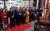Lãnh đạo Đảng, Nhà nước dâng hương, trồng cây tại Hoàng thành Thăng Long