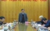Nâng cao chất lượng xây dựng pháp luật của UBTƯ MTTQ Việt Nam