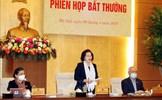 Ủy ban Thường vụ Quốc hội cho ý kiến về biện pháp hỗ trợ người dân
