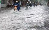 Mưa lớn ở TP. Hồ Chí Minh, nhiều tuyến đường ngập sâu