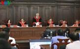 Chánh án TAND Tối cao Nguyễn Hòa Bình xét xử vụ Hồ Duy Hải