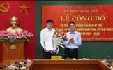 Ban Bí thư chuẩn y Phó Chủ nhiệm Ủy ban Kiểm tra Tỉnh ủy Thái Nguyên