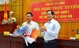Ông Nguyễn Thanh Ngọc giữ chức Phó Bí thư Tỉnh ủy Tây Ninh