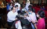 Ngày hội hiến máu Nắng hồng tại Học viện Báo chí và Tuyên truyền