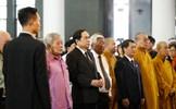 Đoàn Ủy ban Trung ương MTTQ Việt Nam viếng đồng chí Vũ Mão