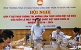Góp ý dự thảo Thông tri hướng dẫn thực hiện Điều lệ MTTQ Việt Nam khoá IX